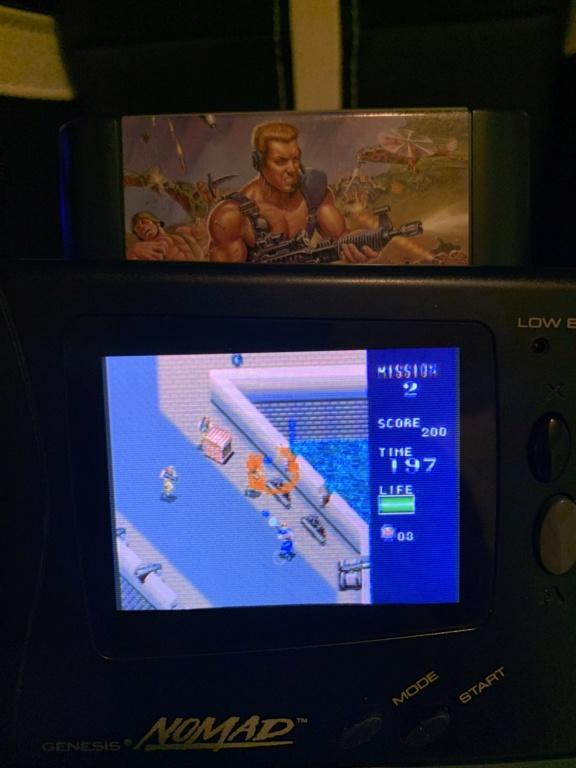 Problème tache sur écran Sega Nomad? E3e88f10