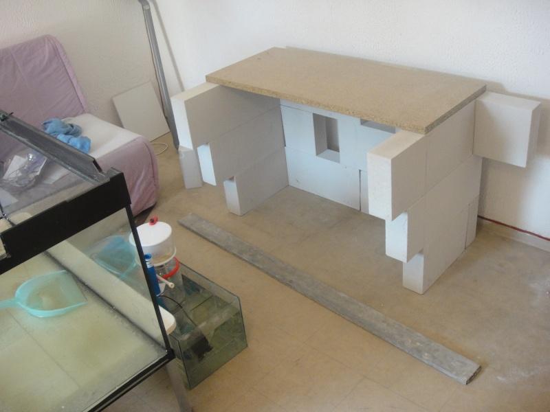fabrication meuble aquarium siporex  Dsc01513