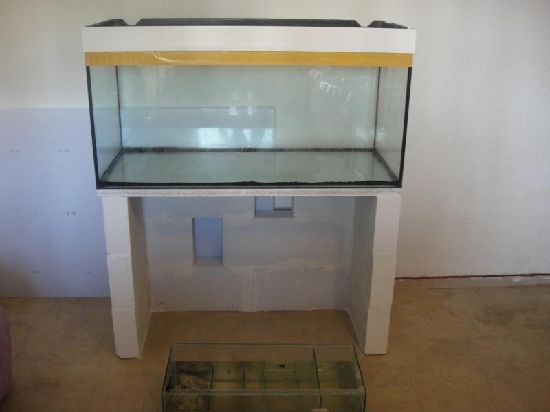 fabrication meuble aquarium siporex  Dsc01518