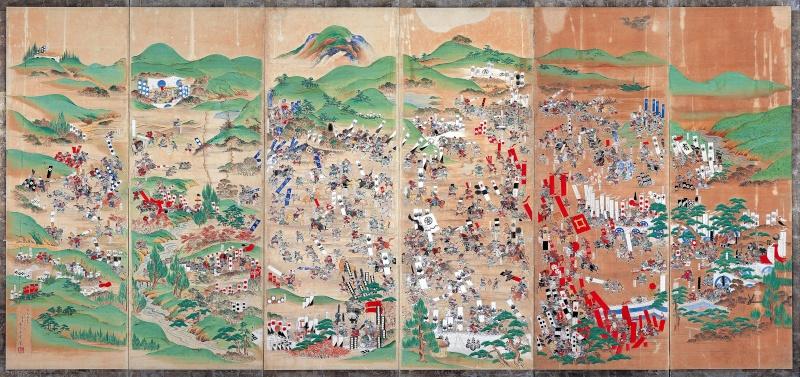 La bataille de Sekigahara  Sekiga10