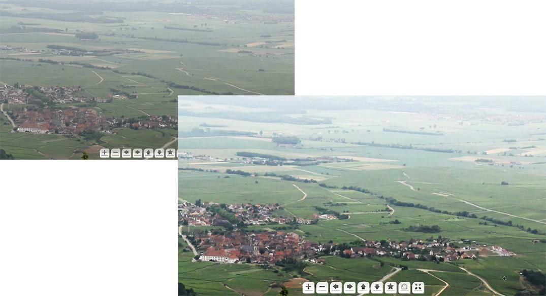 Une collaboration Alsacienne, la plaine d'Alsace vue du Haut Koenigsbourg Image-10