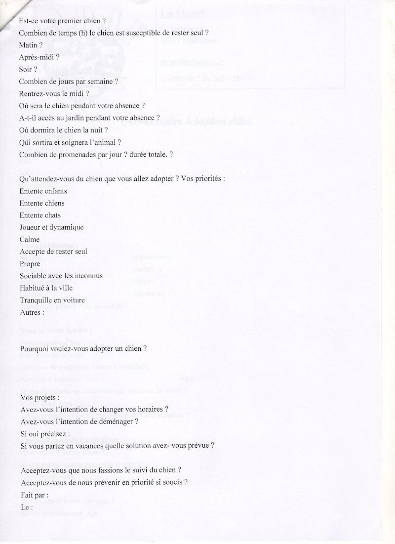 Formulaire pré-adoption et contrat d'adoption Praado11
