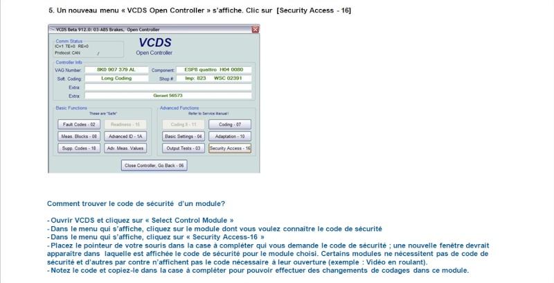 code VAG-COM  2010