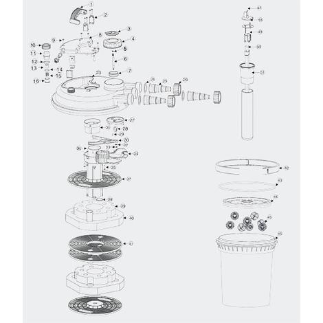 filtre sunsun avec bruit d'eau et éjection d'air par accoup Piece-10