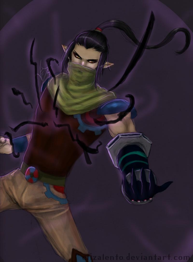 Amatsu (Son of Raiden) Spirit10