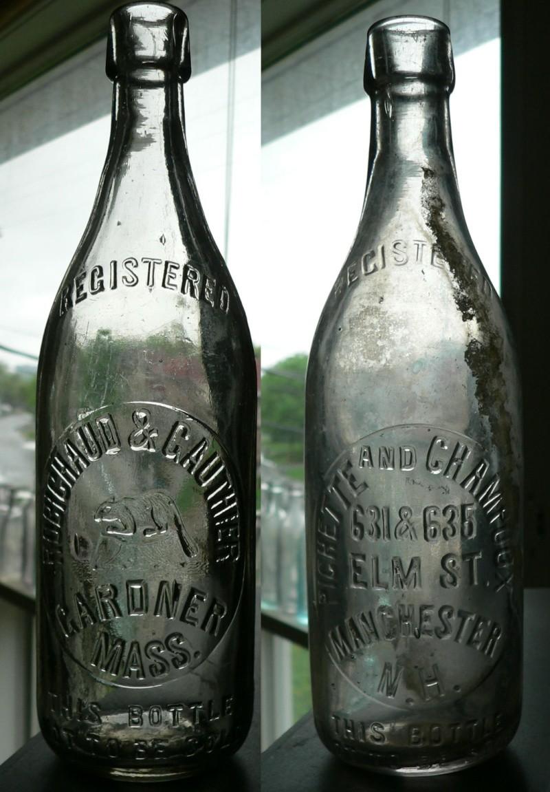 Ma petite collection de bouteilles Américaines / Canadienne-Françaises Can-am12