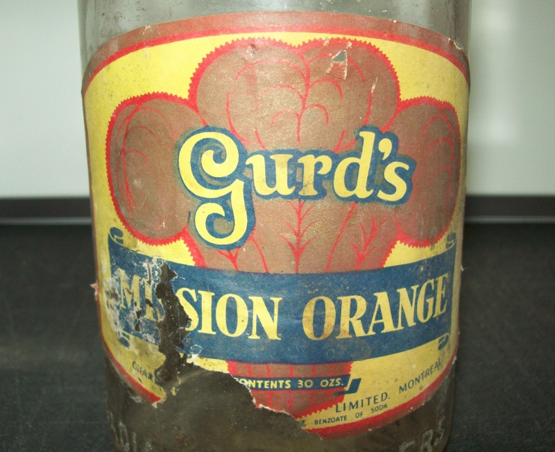 bouteille 30 oz   Gurd's  Mission Orange Gurds-11