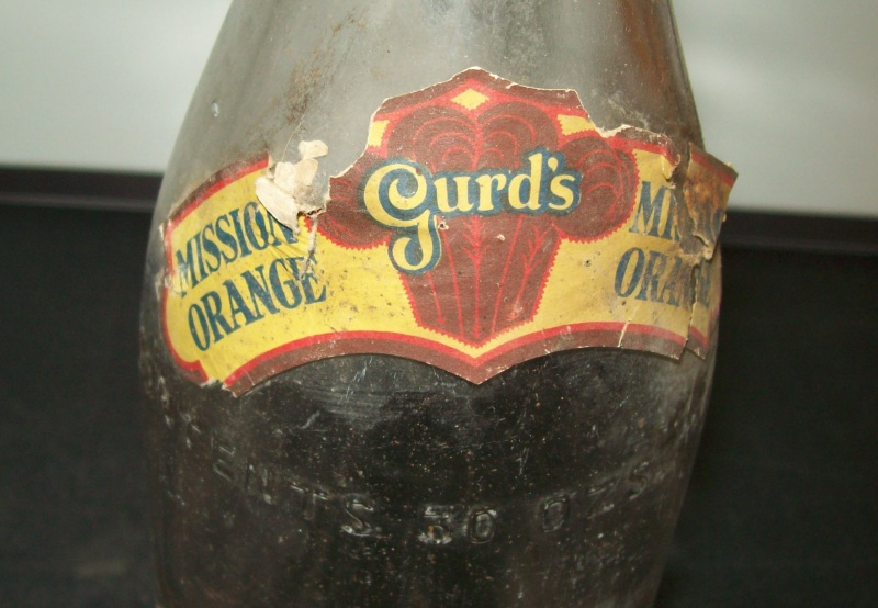 bouteille 30 oz   Gurd's  Mission Orange Gurds-12