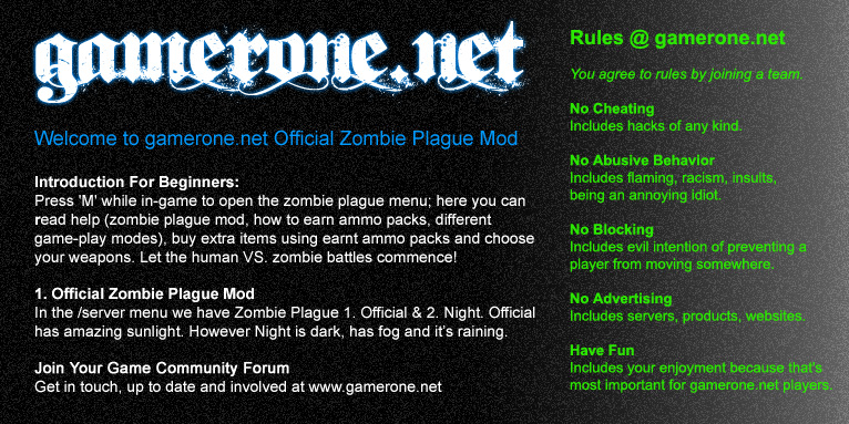 Official Zombie Plague Mod 000-of10