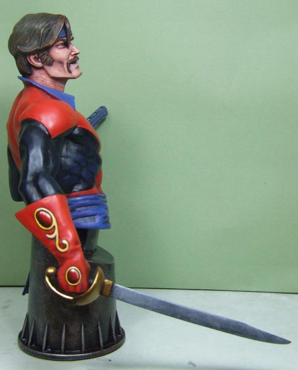 L'atelier de bruno : le corsaire sculpté par Jim Maddox. Corsai10