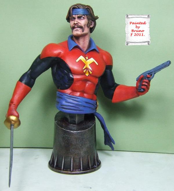 L'atelier de bruno : le corsaire sculpté par Jim Maddox. Corsai13