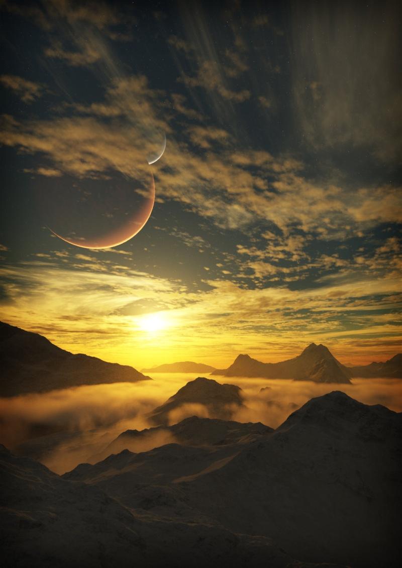 Les Montagnes De Flanoir Dusk_o10