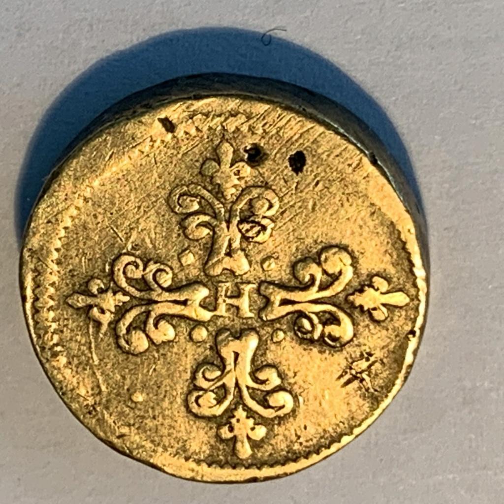Henri III Poids Monétaire pour le franc d'argent XI : I (11 deniers I Grain) Img_5463