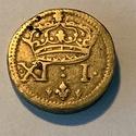 Henri III Poids Monétaire pour le franc d'argent XI : I (11 deniers I Grain) Img_5462