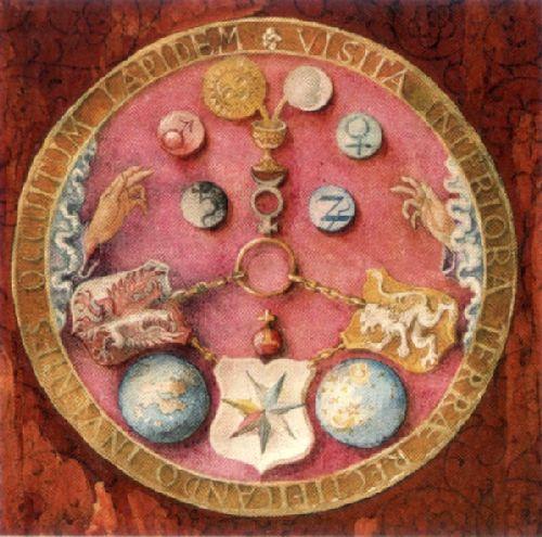 """La table d'emeraude d'""""Hermes trismégiste"""" Tabula11"""