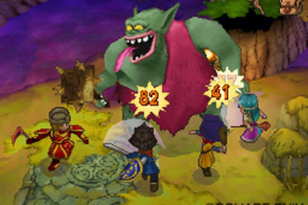 Dragon Quest IX : Les sentinelles du firmaments Dragon13