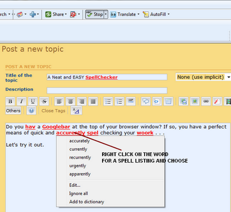 Google Toolbar Spellchecker Google12