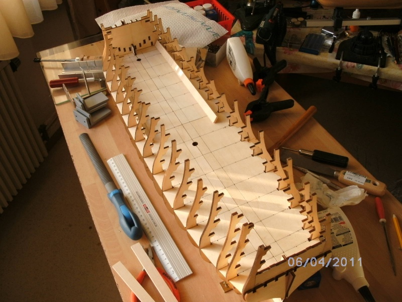 JesusBelzheim Baubericht Victory aus Holz Pictki10