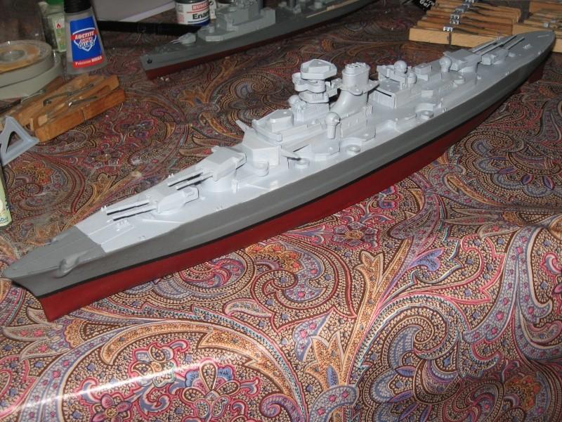 HMS Hood & DKM Bismarck Airfix au 1/600 Img_2610