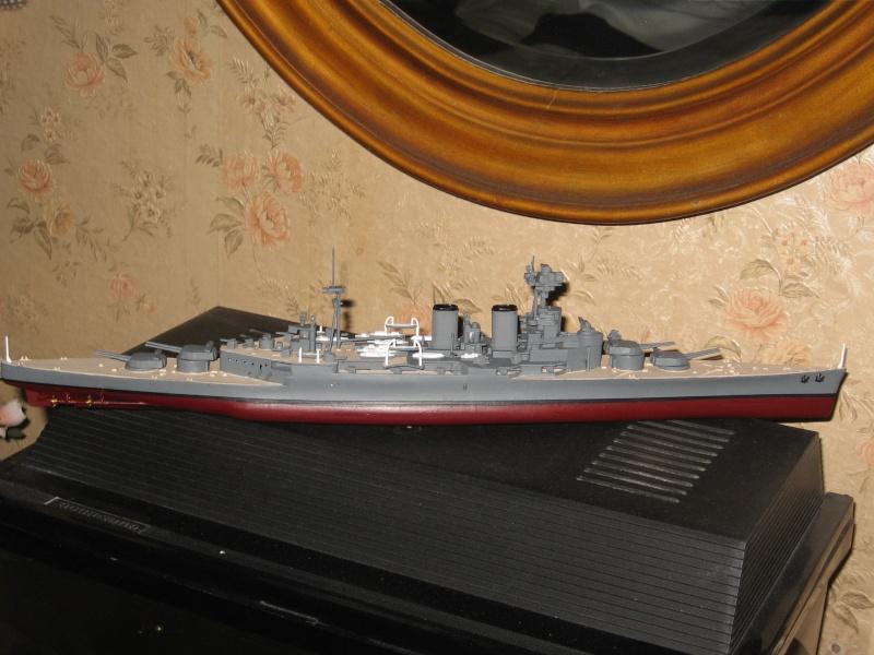 HMS Hood & DKM Bismarck Airfix au 1/600 Img_2611
