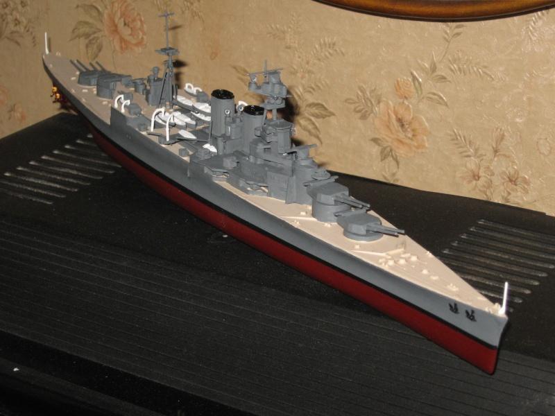 HMS Hood & DKM Bismarck Airfix au 1/600 Img_2613