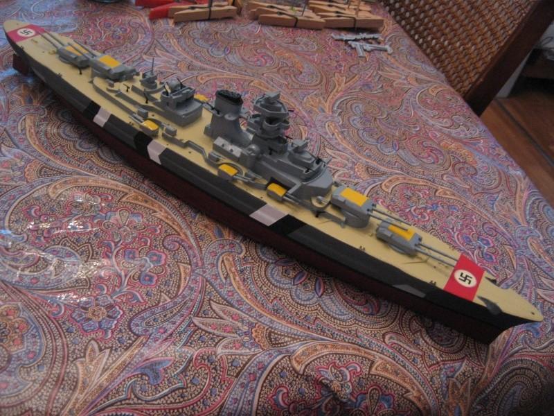 HMS Hood & DKM Bismarck Airfix au 1/600 Img_2618