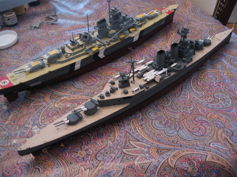 HMS Hood & DKM Bismarck Airfix au 1/600 - Page 2 Img_2710