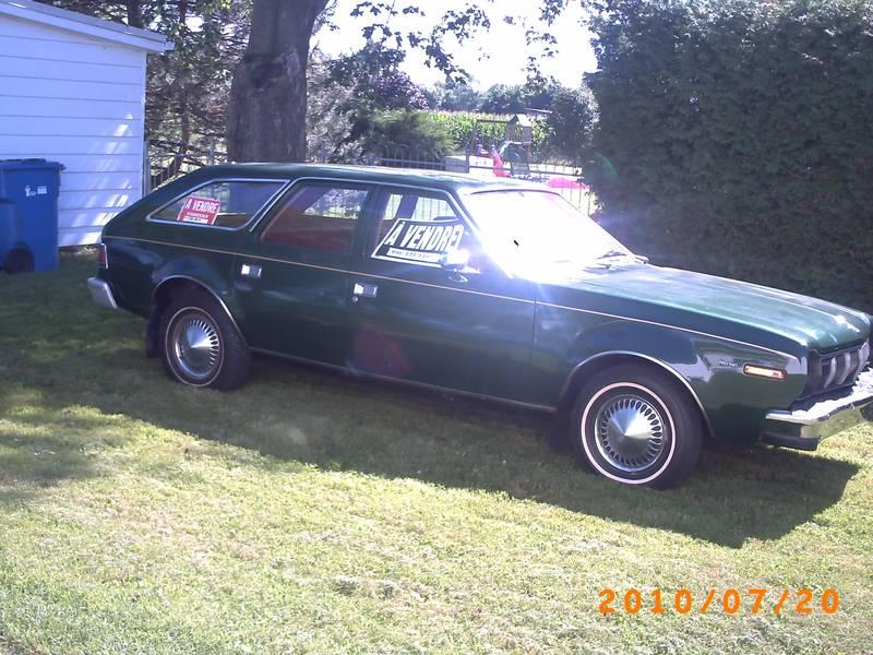 1977 AMC Hornet VERSION familiale 3613nk10