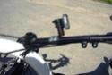 Compteur (cyclomètre) sans fil marchant sur un metabike P1040215