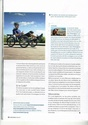 Article dans le magazine belge 'Touring Explorer' Tourin12