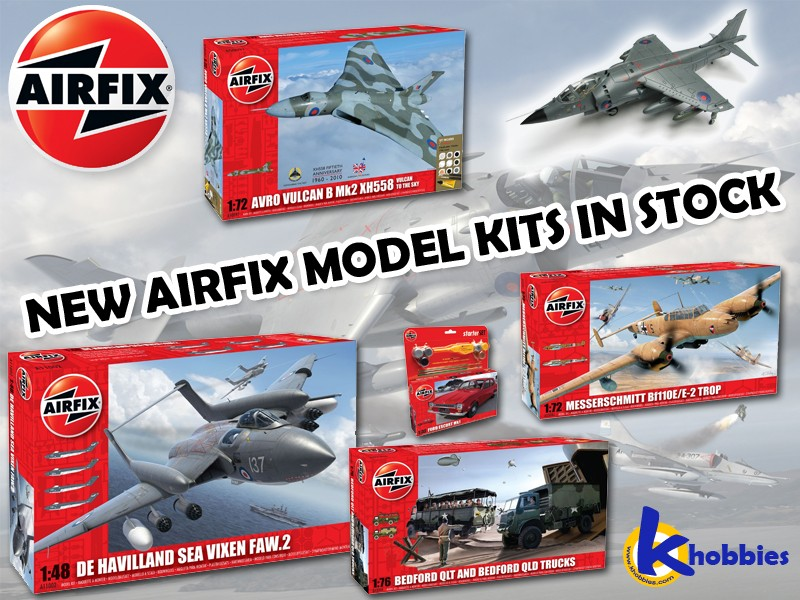 New Airfix model kits in stock from K Hobbies <<<<<  Airfix11