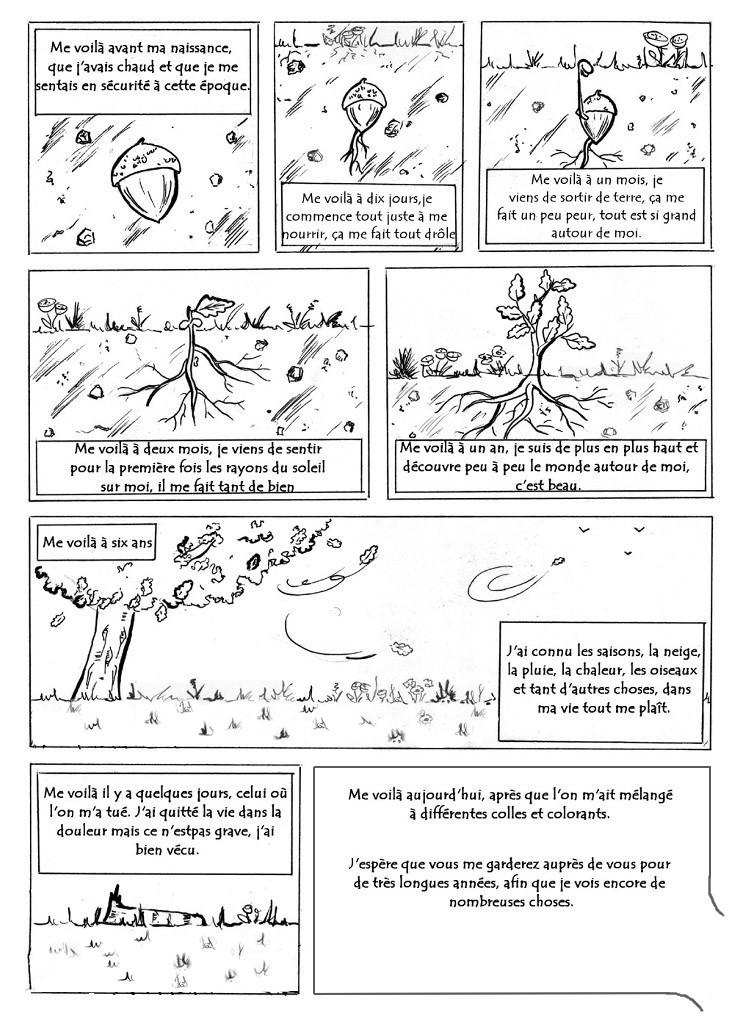 Planche BD d'une page. Planch12