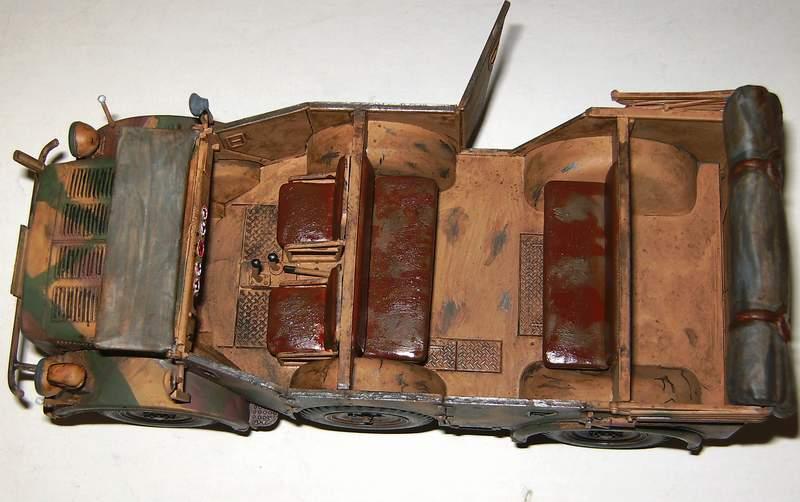 Horch 1a mit 2 cm Flak 38 Ho00810