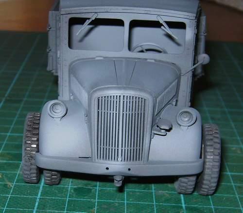 Mercedes L-701 1:35 Lk0110