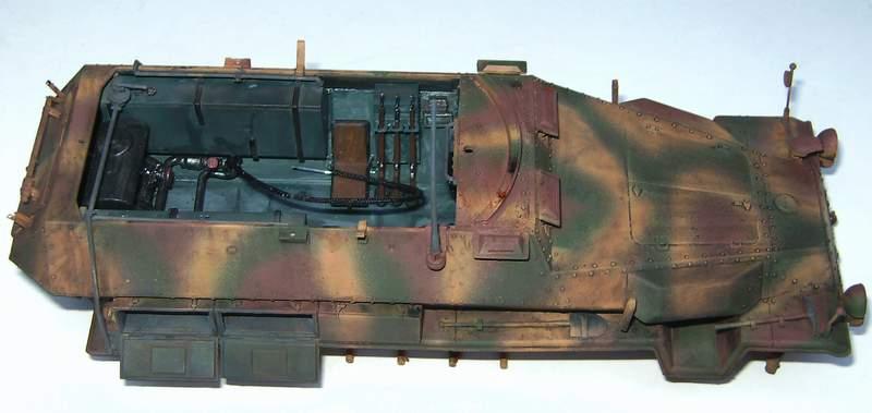 SD KFZ 251/16 Ausf C   1/35  S0210