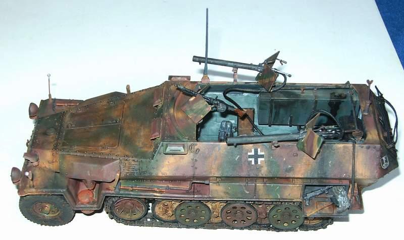 SD KFZ 251/16 Ausf C   1/35  Sd160010
