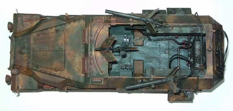 SD KFZ 251/16 Ausf C   1/35  Sd160011