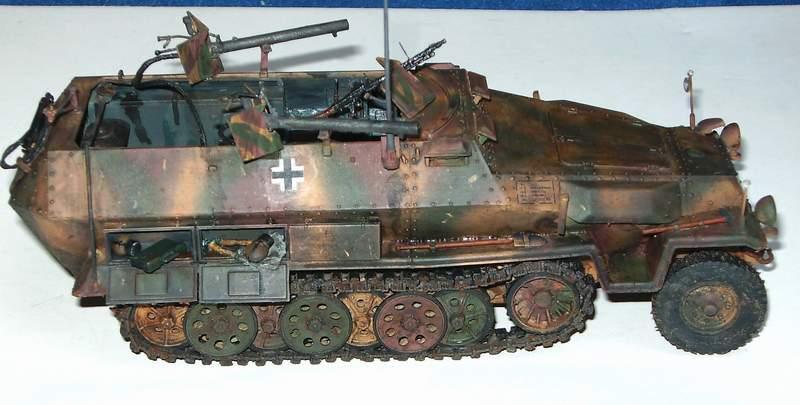 SD KFZ 251/16 Ausf C   1/35  Sd160012