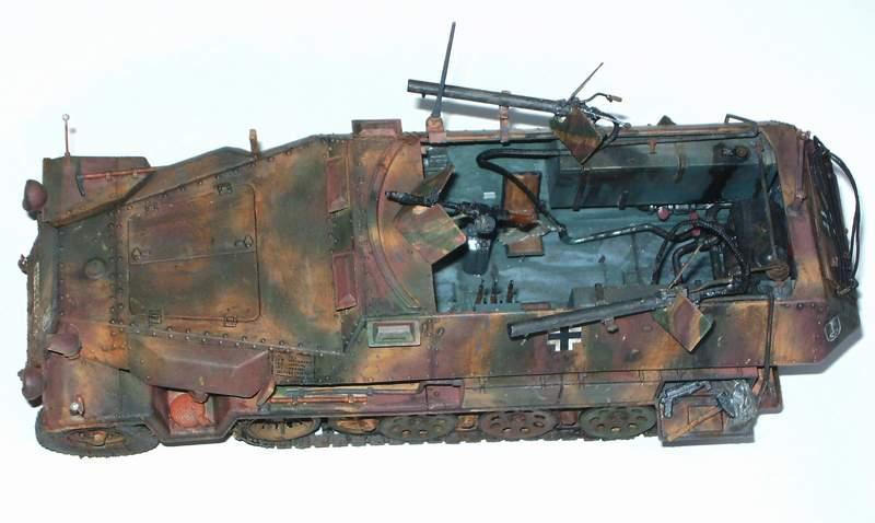 SD KFZ 251/16 Ausf C   1/35  Sd160013