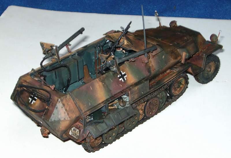 SD KFZ 251/16 Ausf C   1/35  Sd160015