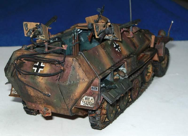 SD KFZ 251/16 Ausf C   1/35  Sd160016