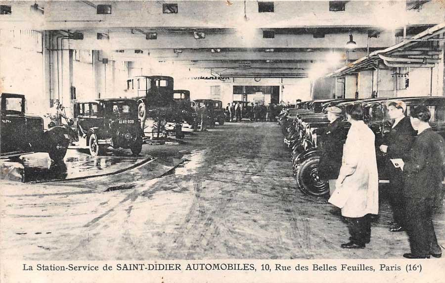 Des photos d'époque de Concessions Mercedes-Benz - Page 27 Statio49