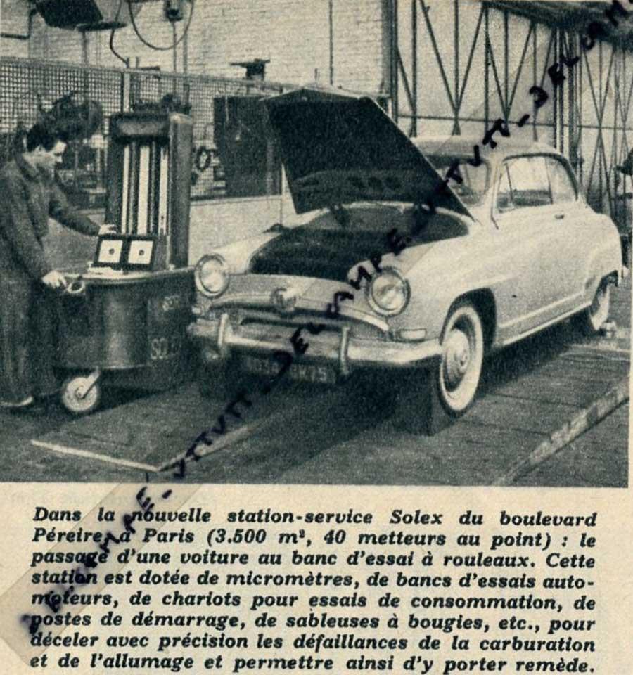 Des photos d'époque de Concessions Mercedes-Benz - Page 27 Statio50