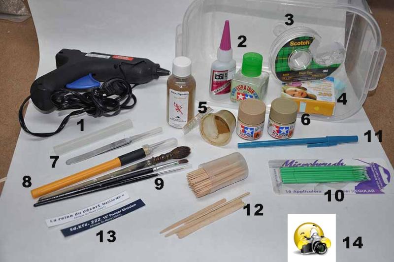 Expo: kit de dépannage et/ou de secours Kit-ex10