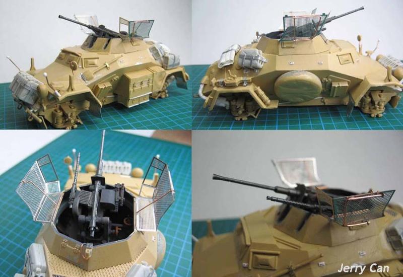 Sdkfz 222, Tamiya 1/35 Sdkfz218