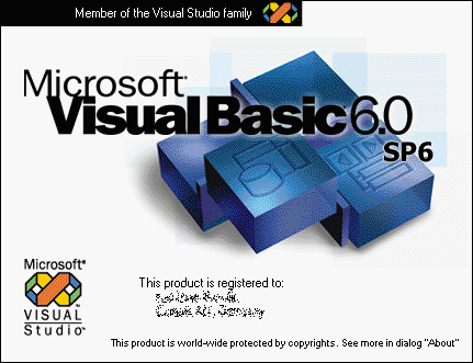 smallest visual basic 6.0 for fast interaction. 6_0sp610