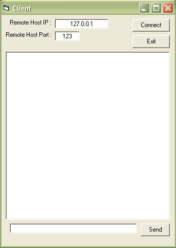 how to create a simple chatting application in visual basic.. Snap-111