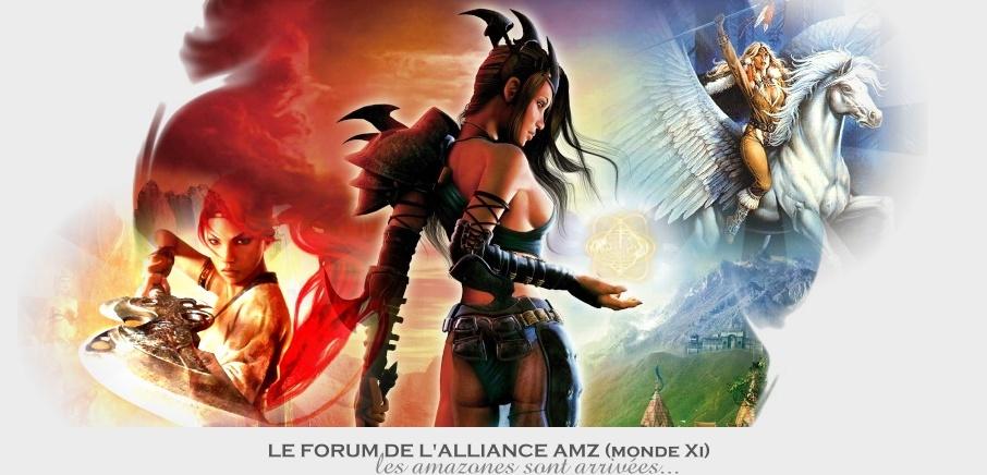 créer un forum : Le forum des Amazones de Xi Header13