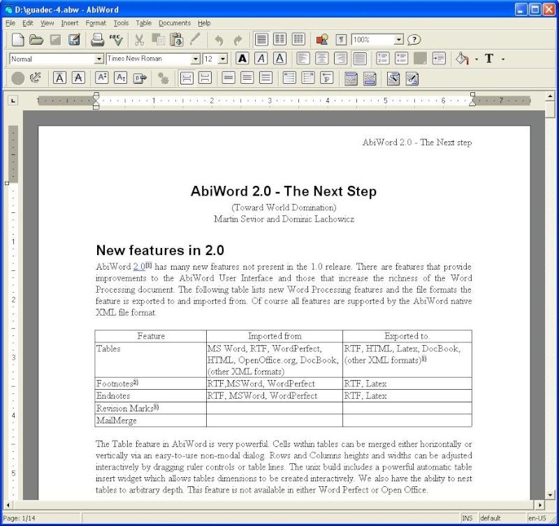 Текстовые редакторы Abi-wi11