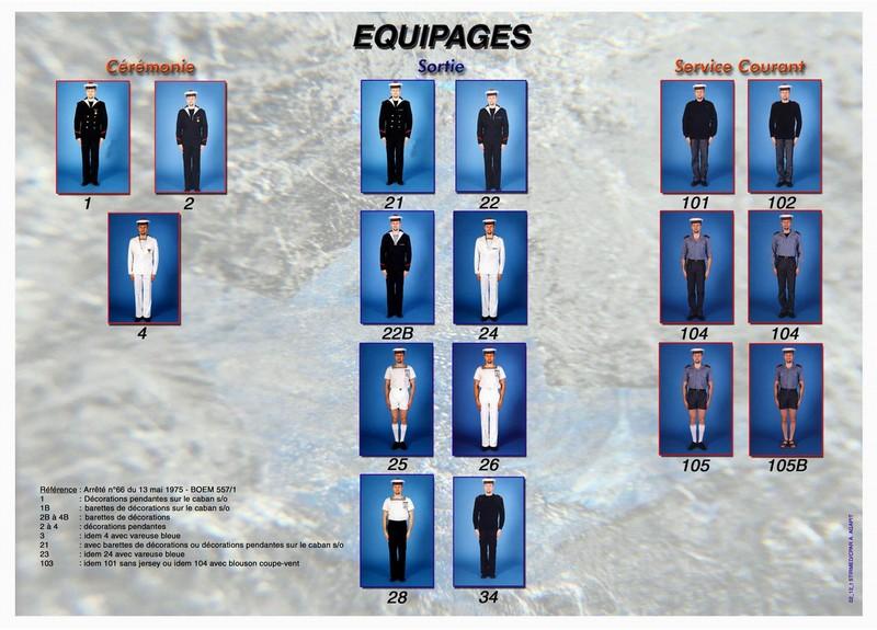 [Les traditions dans la Marine] Tenue dans la Marine- Tome 01 - Page 16 Tenues10